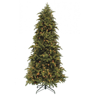 Triumph Tree Триумф Ель Нормандия Стройная 155см 136 ламп  темно-зеленая - арт.73016, фото 1