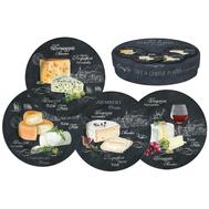 Easy Life (R2S) Набор из 4-х десертных тарелок Мир сыров 19см, фарфор - арт.R2S463_WOCH-AL, фото 1