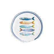 Easy Life (R2S) Тарелка закусочная Морской берег 21см, фарфор - арт.EL-R1982_BORD, фото 1