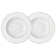 Colombo Набор из 2-х суповых тарелок Грация 23см, костяной фарфор - арт.C2-SP_2-K2126, фото 1