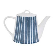 Easy Life (R2S) Чайник (синий с белыми полосками) Бриз 1.0л, фарфор - арт.EL-R2408_BRZE, фото 1
