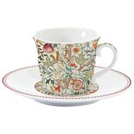 Easy Life (R2S) Чашка с блюдцем (кремовый) Уильям Моррис 0.2л, фарфор - арт.EL-R1106_WILN, фото 1