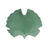 Easy Life (R2S) Блюдо-листок (гинкго) сервировочное (св.зелёный) Мадагаскар 35х29см, фарфор - арт.EL-R2052_LELG, фото 1