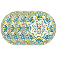 Easy Life (R2S) Набор из 4-х десертных тарелок Средиземноморье 19см, фарфор - арт.EL-R0924_MEBL, фото 1