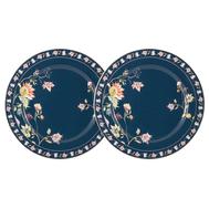 Anna Lafarg Primavera Набор из 2-х закусочных тарелок Флора (синяя) 20.5см, фарфор - арт.AL-1557DB-PP-P4, фото 1