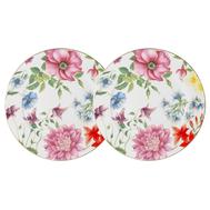 Anna Lafarg Primavera Набор из 2-х закусочных тарелок Шарм 20.5см, фарфор - арт.AL-05A9-PP-P4, фото 1