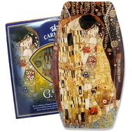 Carmani Блюдо Поцелуй (Г. Климт) 30х19,5 см, стекло - арт.CAR198-8041-AL, фото 1