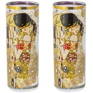 Carmani Набор из 2-х стопок для водки Поцелуй (Г.Климт) 0.06л, стекло - арт.CAR841-3121, фото 1
