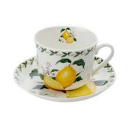 Чайная пара Maxwell & Williams Лимон, 0.48л, костяной фарфор - арт.MW637-PB8108, фото 1
