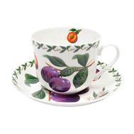 Чайная пара Maxwell & Williams Слива, 0.48л, костяной фарфор - арт.MW637-PB8104, фото 1