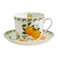 Чайная пара Maxwell & Williams Апельсин, 0.48л, костяной фарфор - арт.MW637-PB8110, фото 1