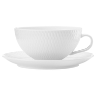 Чайная пара Maxwell & Williams Даймонд, 0.25л, фарфор - арт.MW688-DV0067, фото 1