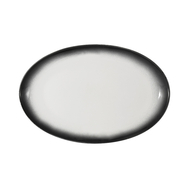 Тарелка овальная Maxwell & Williams Икра (гранит), 25х16см, фарфор - арт.MW602-AX0259, фото 1