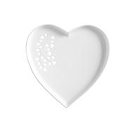 Тарелка (сердце), белая Maxwell & Williams Листья, 22см, фарфор - арт.MW580-AY0142, фото 1
