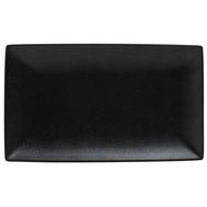 Блюдо прямоугольное Maxwell & Williams Икра (чёрная), большое, 34.5х19.5см, фарфор - арт.MW602-AX0070, фото 1