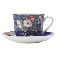 Чайная пара Maxwell & Williams Цветочная муза, 0.48л, костяной фарфор - арт.MW638-WK09300, фото 1