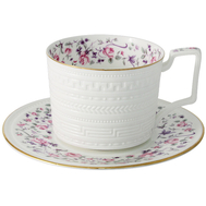 Colombo Чашка с блюдцем Стиль 0.25л, костяной фарфор - арт.C2-CS-6402AL, фото 1