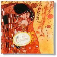 Carmani Блюдце для украшений Поцелуй (Г.Климт) 13х13 см, стекло - арт.CAR198-1241-AL, фото 1