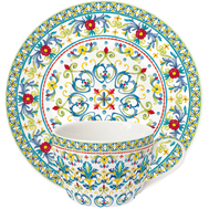 Easy Life (R2S) Чашка с блюдцем Средиземноморье 0.24л, фарфор - арт.EL-R0939_MEBL, фото 1