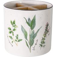 Easy Life (R2S) Банка-подставка под кухонные инструменты Herbarium, фарфор - арт.EL-R2218_HERU, фото 1