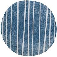 Easy Life (R2S) Тарелка закусочная (синий с белыми полосками) Бриз 21см, фарфор - арт.EL-R2402_BRZE, фото 1