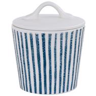 Easy Life (R2S) Сахарница (белый с синими полосками) Бриз 0.24л, фарфор - арт.EL-R2407_BRZ1, фото 1