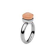 Qudo Кольцо Firenze light peach 17.2 мм, фото 1
