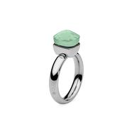 Qudo Кольцо Firenze chrysolite 17.2 мм, фото 1