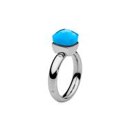 Qudo Кольцо Firenze blue opal 17.2 мм, фото 1