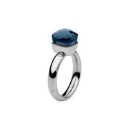 Qudo Кольцо Firenze dark blue 17.8 мм, фото 1