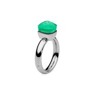 Qudo Кольцо Firenze smaragd 15.9 мм, фото 1