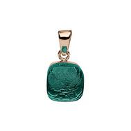 Qudo Кулон Firenze emerald, фото 1