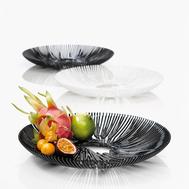 Блюдо Koziol Anemone, чёрное, 32см - арт.3538526, фото 1