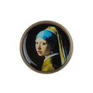 Clara Bijoux Брошь «Девушка с жемчужной серёжкой», фото 1