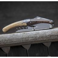 Нож сомелье Legnoart Primitivo Oak and Wenge - арт.AW-WF-3BC, фото 1