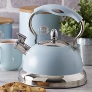 Чайник со свистком Typhoon Living, голубой - арт.1401.164V, фото 1