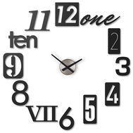 Часы настенные Umbra Numbra, черные, 81см - арт.118430-040, фото 1