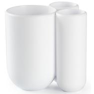 Стакан для зубных щеток Umbra Touch, белый - арт.023271-660, фото 1