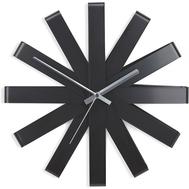 Часы настенные Umbra Ribbon, чёрныe, 30см - арт.118070-040, фото 1