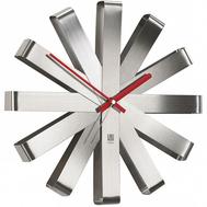 Часы настенные Umbra Ribbon, сталь, 30см - арт.118070-590, фото 1
