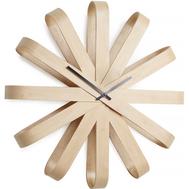 Часы настенные Umbra Ribbon, дерево, 30см - арт.118071-390, фото 1