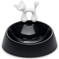 Миска для кошки Koziol Miaou, чёрно-белая - арт.2920526, фото 1