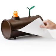 Держатель для бумажных полотенец Qualy Log&Roll - арт.QL10074, фото 1