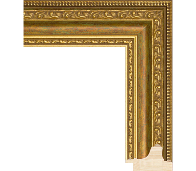 Деревянный багет NA003.1.097, ш: 5.2см в: 3.5см, фото 1