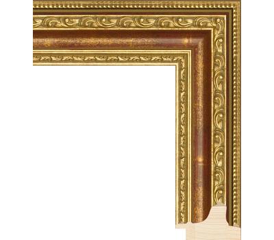 Деревянный багет NA003.1.100, ш: 5.2см в: 3.5см, фото 1