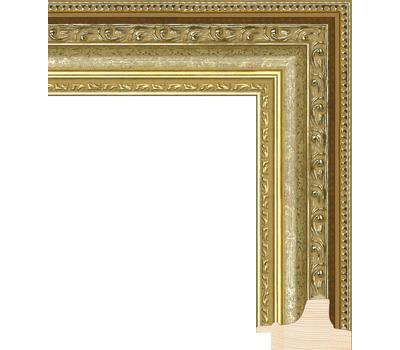 Деревянный багет NA003.1.121, ш: 5.2см в: 3.5см, фото 1