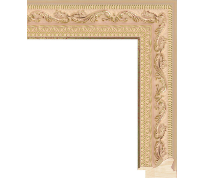 Деревянный багет NA008.2.133, ш: 4.2см в: 2.8см, фото 1