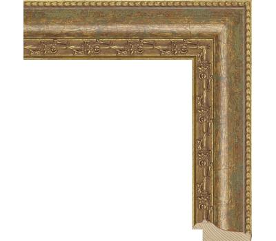 Деревянный багет NA010.1.026, ш: 4.7см в: 2см, фото 1