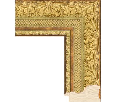 Деревянный багет NA012.1.032, ш: 6.7см в: 3.9см, фото 1