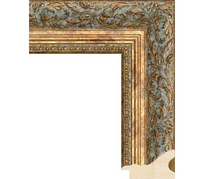 Деревянный багет NA013.2.253, ш: 5.7см в: 4.1см, фото 1